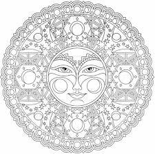Mandala Da Colorare Difficili Mandala Disegni Di Mandala Da