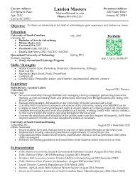 Resume Examples Example Internship Resume Template Sample Sample