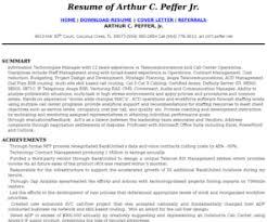 avaya call center management resumecom call center manager  telecommunications - Call Center Manager Resume