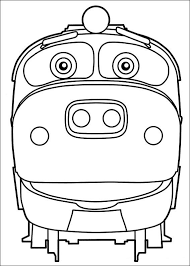 Small Picture Kids n funcom 24 coloring pages of Chuggington