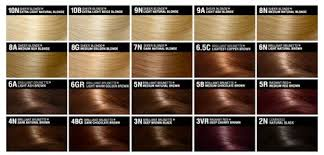 Light Brown Hair Color Chart And So A Run Down On The