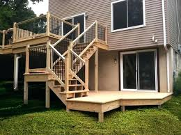 cost of new deck valley contractors pa how much does a low installation vsconcrete patio how much does a deck cost o20