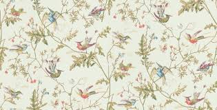 Humming Birds Wallpaper by Wallpaperdirect - Bird wallpaper for home