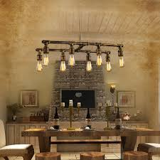 household lighting fixtures. 8 Light Industrial Style Lighting Fixtures Bar Counter For Stylish Property Chandeliers Remodel Household