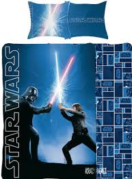 star wars classic single panel duvet cover bed set co uk kitchen home