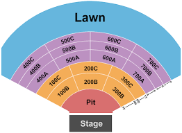 Freedom Hill Seating Chart Michigan Lottery Amphitheatre Seating Chart Sterling Heights