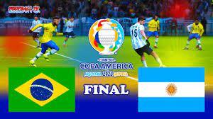 BRAZIL vs ARGENTINA Final - Copa ...
