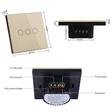 Touch Switch For Lamp Touch Control Lamp Switch Manufactory In China Gooson