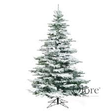 Flocked Christmas Tree Flocked Noble 5ft Artificial Frosted Christmas Tree 6799