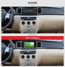 Full touchscreen OEM Android 7.1 2004 2005 2006 Toyota Corolla ...