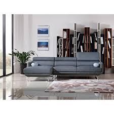 Modern blue couch Midnight Blue Yhst693281659099942561107976683 Inmod Divani Casa Pierce Modern Blue Fabric Sectional Sofa