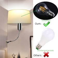 Kaufen Günstig Moderne Led Wand Lampe Mit Schalter E27 Birne