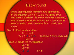 2 chapter 3 lesson 5 solving 2 step equations pgs 120 124 what you will learn to solve 2 step equations