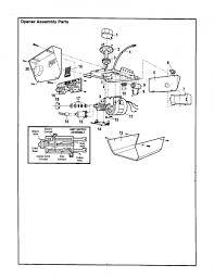 sears garage door opener partsCraftsman Garage Door Opener Parts Diagram  efcaviationcom