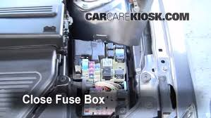 blown fuse check 2004 2009 mazda 3 2008 mazda 3 s 2 3l 4 cyl 6 replace cover secure the cover and test component