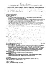Financial Analyst Free Resumes Free Resumes
