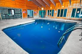 Indoor pool and hot tub Garage Holiday3jpg Vrbocom Bushkill Creek Lodge With Indoor Pool And Hot Tub Pocono Cabin