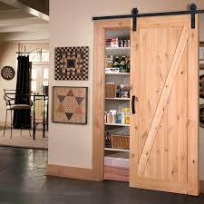 simply southwestern wooden pantry door