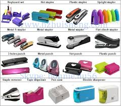 Standard Office Equipment List Office Stationery Manufacturer Pink Fashion Unique Hand Stapler