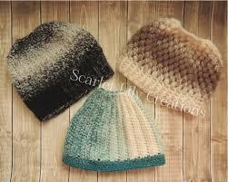 Ponytail Beanie Crochet Pattern Fascinating 48 Crochet Messy Bun Hat Patterns