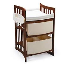 Amazon.com : Stokke Care Changing Table, Walnut Brown Baby