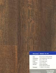 nouveax engineered vinyl plank evp