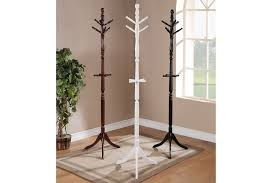 Cherry Coat Rack Traditional White Black Cherry Coat Rack Hanger Stand With 65