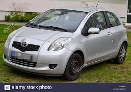 Fuerstenwalde, Germany. 9th Apr, 2014. A Toyota Yaris car model ...