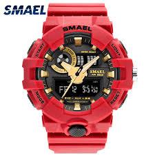 <b>SMAEL Watch</b> Men for <b>Sports</b> Quartz Wristwatches <b>Digital</b> LED ...