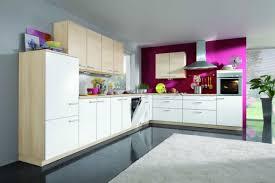 fuchsia light neutrals kitchen