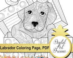 Small Picture Dog coloring book Etsy
