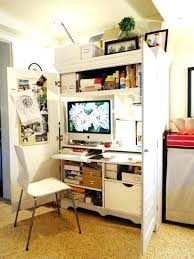 hide away office. Hide Away Desk Small Hideaway Home Office Cabinets Enhancing Space Saving Interior Design M