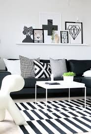 ... Black And White Home Decor Pinterest Striped Fabricblack Decorations  Decorating 96 Striking Photos Design ...