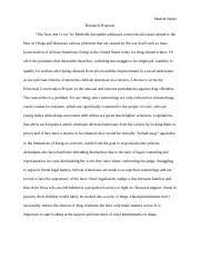 wcresearchproposal student research proposal the new jim  w39cresearchproposal student research proposal the new jim crow by michelle alexander addresses controversial issues related to the war on drugs