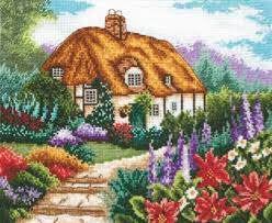 Cross Stitch World Free Patterns Enchanting WIN A Classic Cottage Kit Cross Stitching