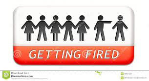 Getting Fired Losing Job Stock Illustration Image 40921233
