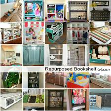 furniture repurpose ideas. Repurposed Bookshelf Ideas Furniture Repurpose F