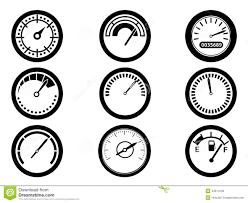 pressure gauge symbol. royalty-free stock photo pressure gauge symbol o