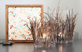 Awesome Decorating With Twigs Gallery - Best idea home design .