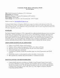 Community Health Nurse Cover Letter Sarahepps Com