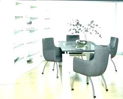 gorgeous dining room chairs on wheels intended for your property upholstered