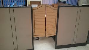 doors for office. Cubicles Privacy Office Cubicle Saloon Swinging Doors G Rated There I Fixed  It - 7085429760 For