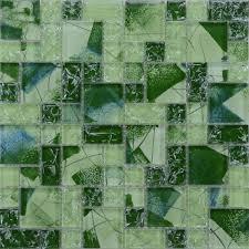 broken glass mosaic art