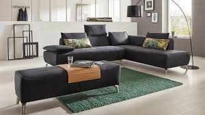 Wohnzimmer Couch Eckkombination Mit Vintagelederbezug Wohnzimmer Furniture Home