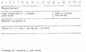 Приложение Регистрационно контрольная карточка документа  Регистрационно контрольная карточка документа