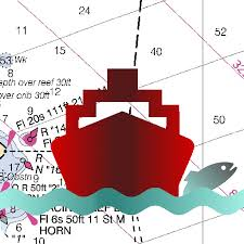 Marine Navigation Usa Lake Depth Maps Gps Nautical Charts For Fishing Sailing And Boating