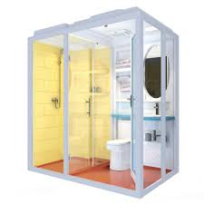 All In One Bathroom 1188 Cheap And Fashinable Prefab All In One Modular Bathroom With