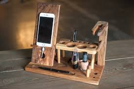 wood stand gift women cosmetic desk holder phone desk holder women solid wood organizer wooden makeup organizer beauty station gift