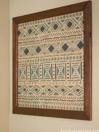 how to make your own diy tribal wall