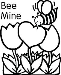 Preschool Valentine Coloring Pages Free Valentines Coloring Pages
